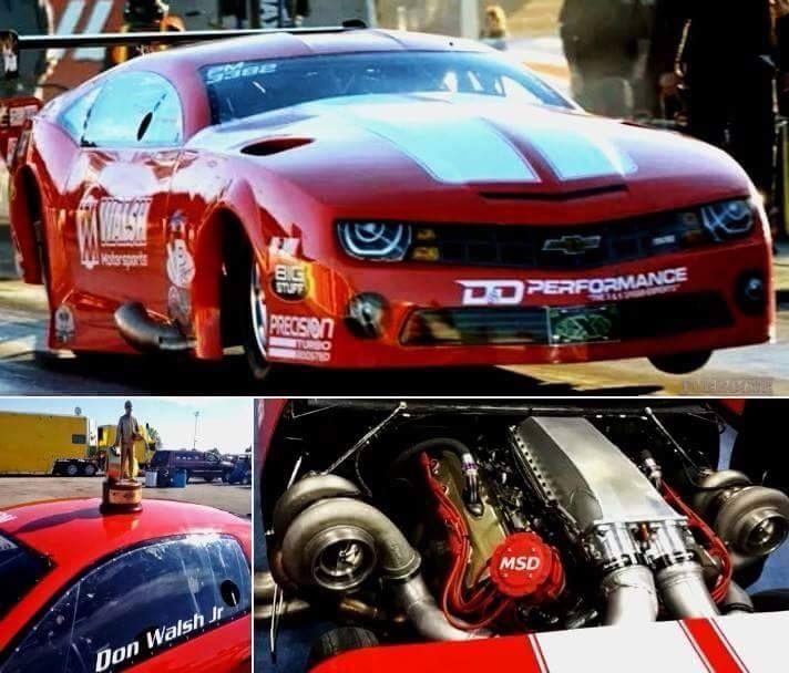 Precision Twin Turbo: Don Walsh Jr 2014 Larry Jeffers Race Cars Camaro. Powered