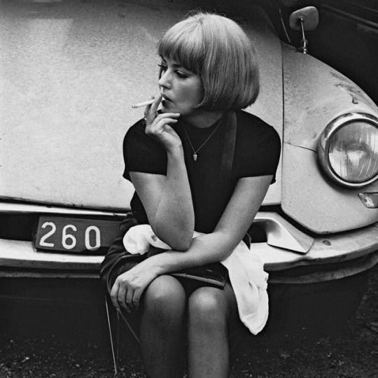 """""""One thing you have to give up is attaching importance to what people see in you.""""  Jeanne Moreau."""