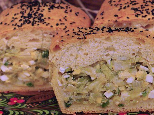 pai wiht cabbage/ Пирог из дрожжевого теста с молодой белокочанной капустой