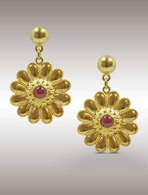 Ilias Lalaounis earrings from the Classical and Hellenistic collection