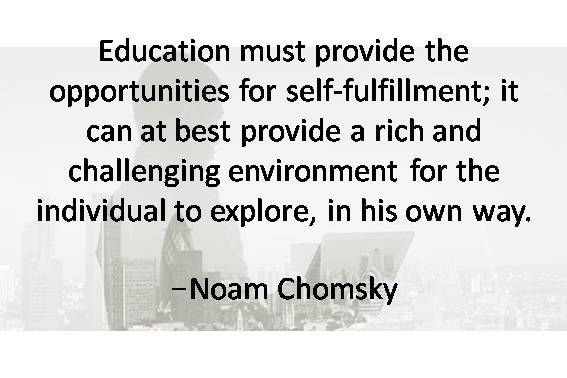 Quotes About Education. Education Must Provide The