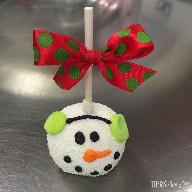 Christmas Cake Pop Ideas Pinterest : Christmas Cake Pop Cake Pops & Cake Balls Pinterest ...