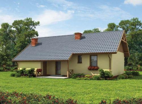 Projekt został tak pomyślany, by stanowił niezwykle funkcjonalną bazę wypoczynkową dla całej rodziny. Budynek jest prosty, pokryty dwuspadowym dachem, wykonanym tak, by tworzyć zadaszenie nad mieszczącym się z tyłu domu uroczym tarasem.