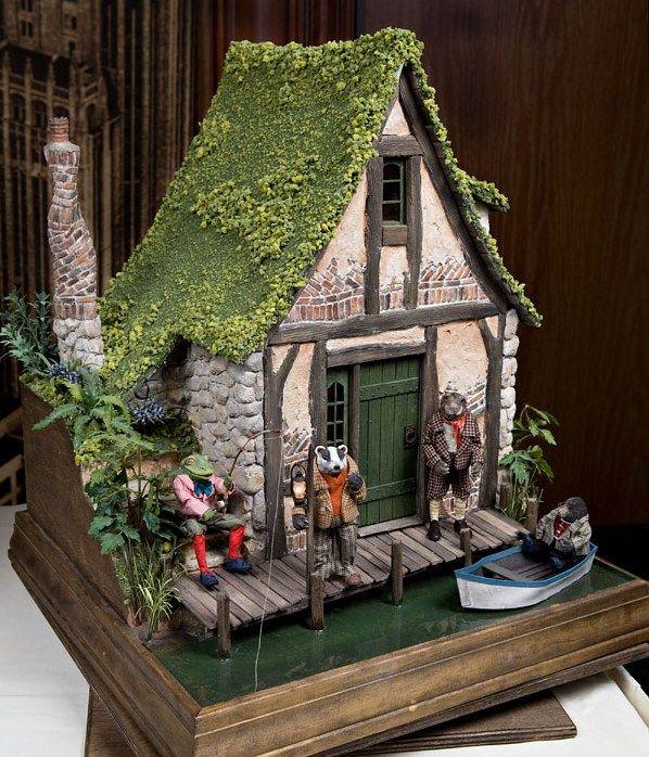 Dollhouse Miniatures Victoria Bc: 17 Best Images About Dollhouse-Cottage On Pinterest