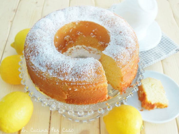 Torta al limone morbida morbida - super soft lemon cake :) includes English recipe