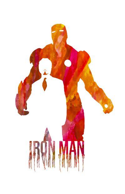 Iron Man Art Print – Jonathan Hernandez   In his works, Hernandez often uses ima… – Kimberly Logan