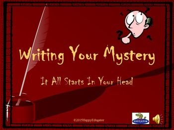 good clues for writing a mystery story