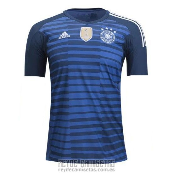 c9fb412f815 Soccer Newswire  Tailandia Camiseta De Futbol Alemania Portero 2018 Azul