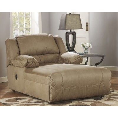 The plush comfort and stylish contemporary design of the Hogan Mocha Pressback Chaise by Signature Design by Ashley Furniture is the perfect addition to the living room that you have been dreaming about. The soft feel of the warm earth-toned upholstery covers the plush bustle back design and thick pillow top arms perfectly cradling you within the supportive comfort of this upholstery collection.
