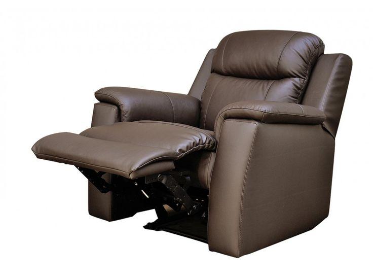 Relaxsessel Fernsehsessel Leder Evasion - Braun