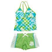3pc Multicolor Tankini Set 7 16 713344520 | Swimwear | Girls 7 16 | Kids | Burlington Coat Factory