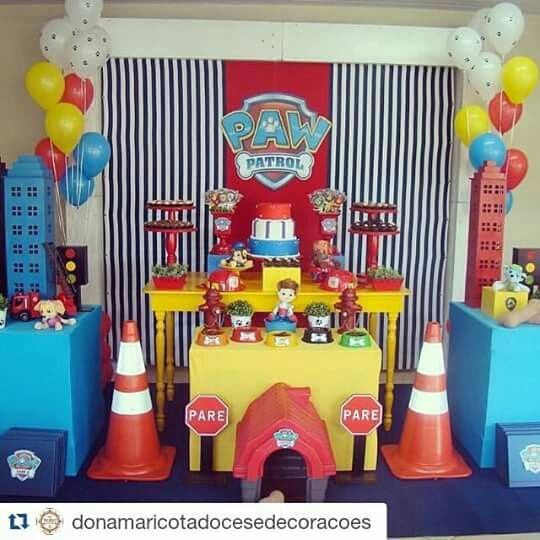 10 im genes sobre paw patrol party en pinterest fiestas for Quiero ver decoraciones