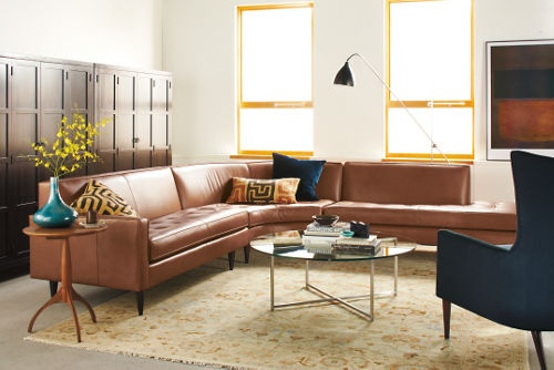 155514993352127505 on Curved Sofa