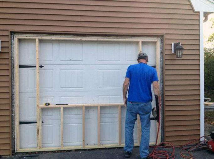 Garage Door Vinyl Replacement Windows Project Braintree Ma Braintree Doorvinyl Garage Proje In 2020 Garage Doors Garage Door Replacement Garage Renovation