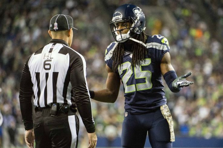Richard Sherman on controversial hit to Dan Carpenter: 'He shouldn't have kicked it'