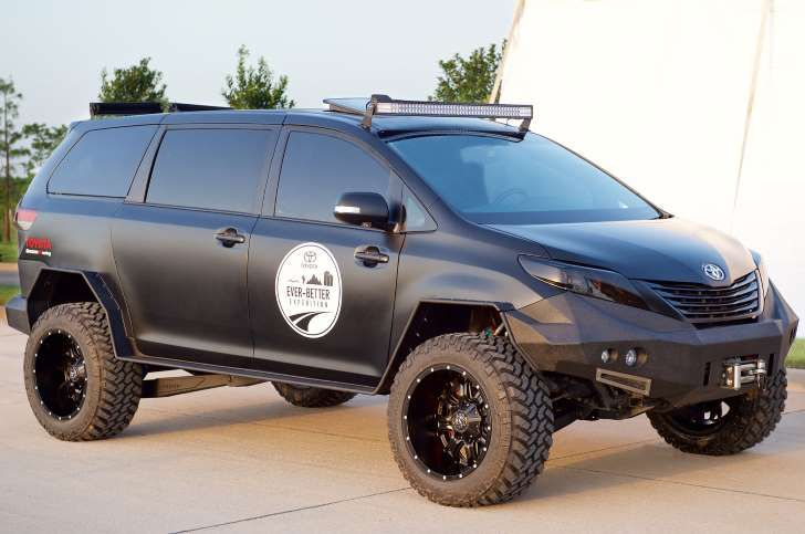 My new dream car!!! Don't Mess With This Minivan: Toyota Builds an Off-Road Sienna |  MSN.com