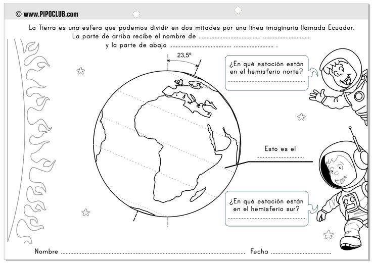 Ms de 25 ideas increbles sobre Planeta tierra para colorear en