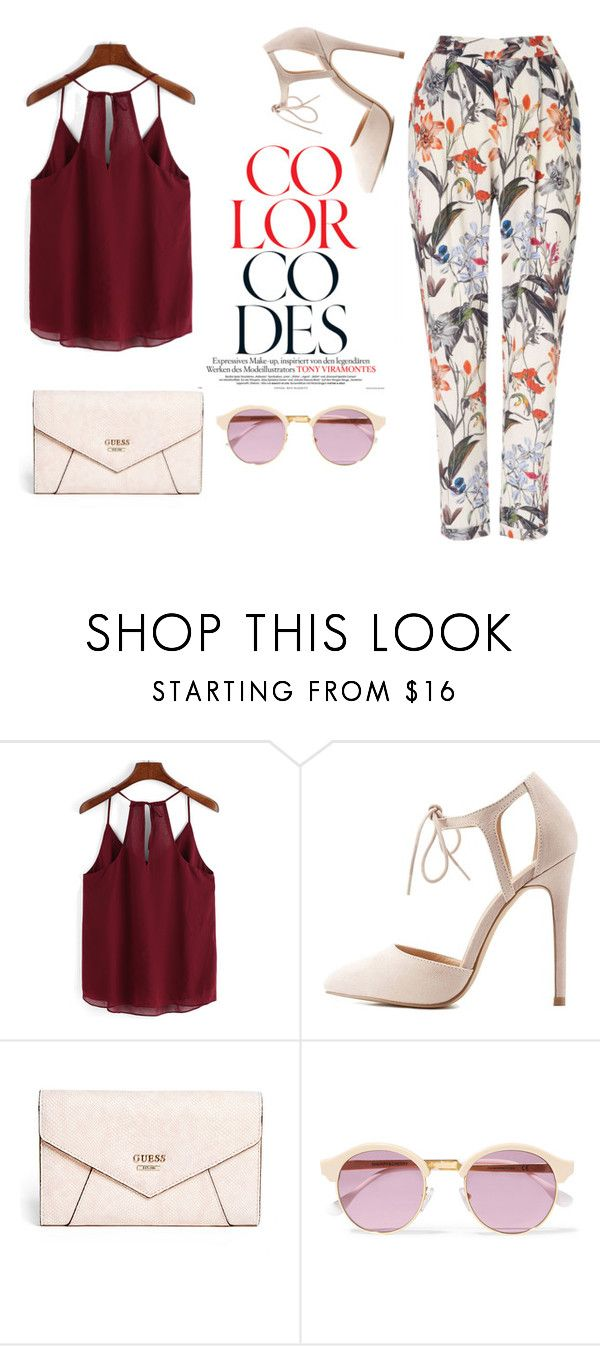 """""""culottes"""" by zahrohusna on Polyvore featuring Charlotte Russe, GUESS, Sheriff&Cherry and Phase Eight"""