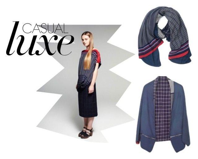 """Florenz Jacky Kimono scarf"" by florenzcollection on Polyvore"
