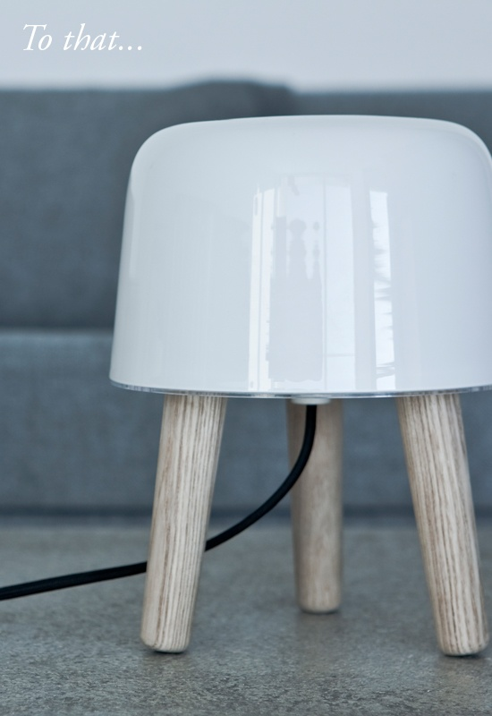 BODIE and FOU★ Le Blog: Inspiring Interior Design blog by two French sisters: In the shop this week: the MILK lamp