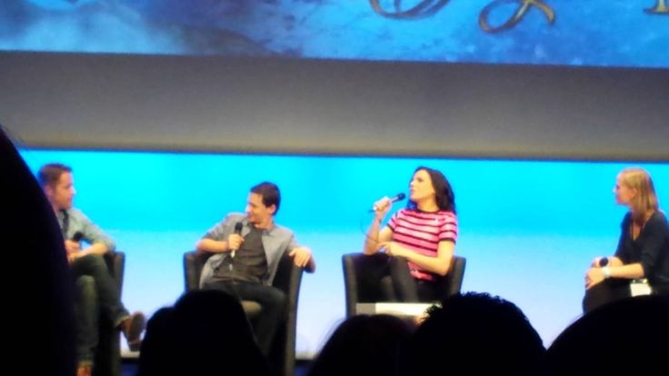 Lana Parrilla, Jared Gilmore and Sean Maguire, Fairy Tales Xivents convention II Part 5 - June 22, 2014