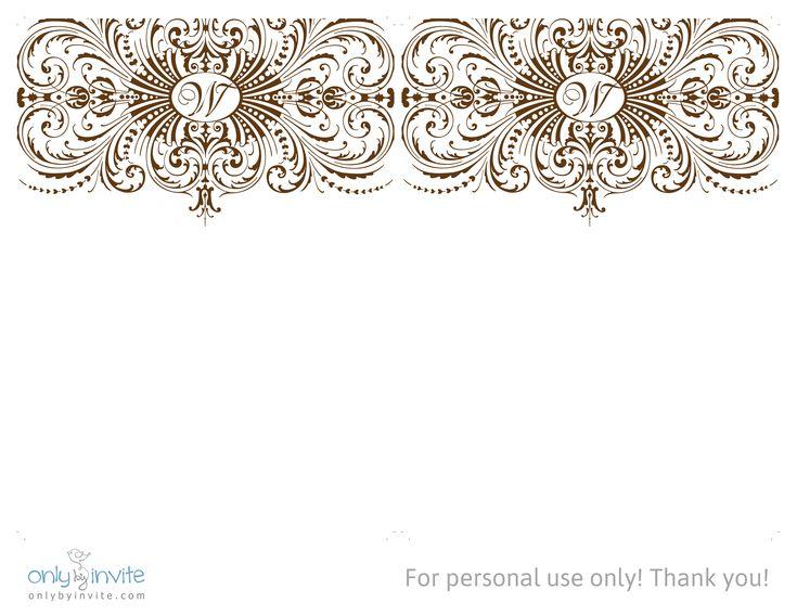 17 beste ideer om Gratis Invitasjonsmaler på Pinterest Utkast - publisher invitation templates free