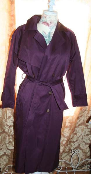 1000  ideas about Purple Trench Coat on Pinterest | Trench coats