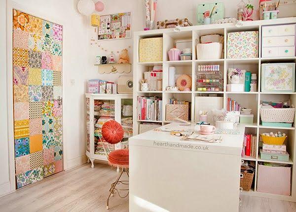 Colorific: Color Advisor: Idei de organizare a unui atelier de lucru acasa