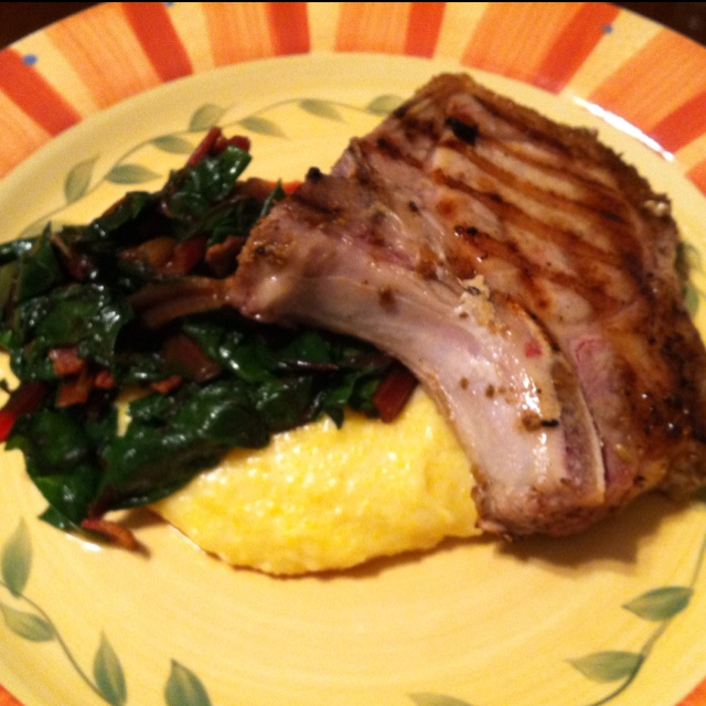 Brined pork chops recipe anne burrell