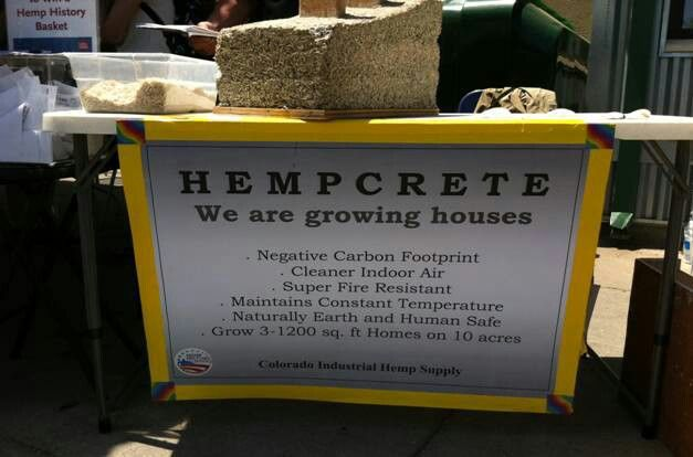 Hemp- one of the strongest building materials ever!
