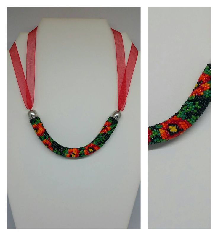686 best Bead crochet images on Pinterest | Gehäkeltes perlenarmband ...