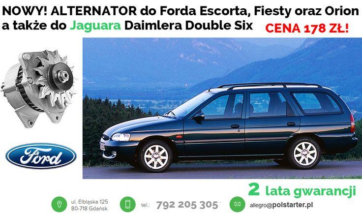 ⚫ NOWY, Oryginalny  alternator do samochodów marki Ford/Jaguar. Od teraz okazyjna cena 178 zł!   ⚫ Bezpośredni link do aukcji z rozrusznikiem:  ➜ http://allegro.pl/alternator-ford-escort-fiesta-orion-jaguar-daimler-i6660108591.html  ⚫ Odwiedź także naszą stronę i sklep internetowy: ➜ www.polstarter.pl ➜ www.sklep.polstarter.pl  ⚫ KONTAKT: 📲 792 205 305 ✉ allegro@polstarter.pl  #alternatory #oferta #polskafirma #części #motoryzacja #ford #escort #fiesta #orion #jaguar