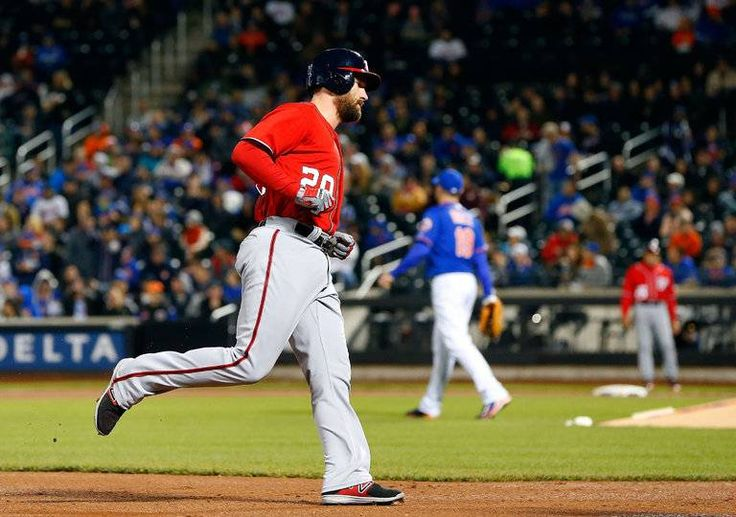 Daniel Murphy's First-Inning Grand Slam Powers Nationals Past Slumping Mets