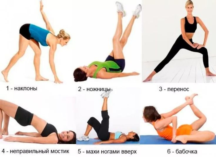 Как похудеть в ногах попе и бедрах