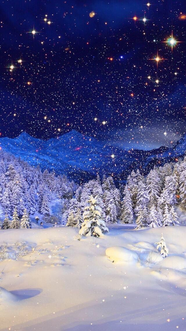 Wallpaper iPhone #winter#beautiful nature⚪️