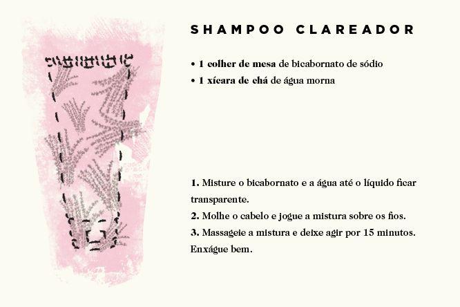 Shampoo Clareador: Cabelos Mais Bonitos Com Essas Receitas Fáceis e Práticas - www.modefica.com.br
