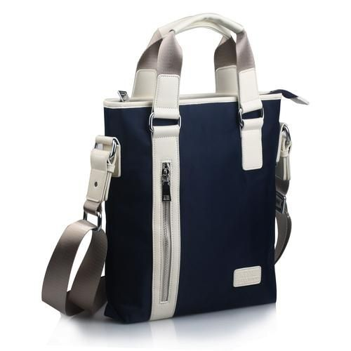 Vintage Canvas Tote Bag For Men Casual Travel Business Briefcase Portable New Design 11 inch Laptop Bag Man High Quality