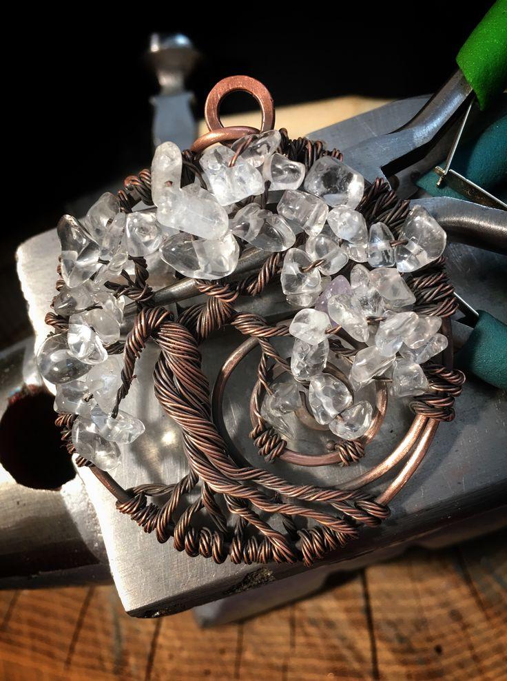 Albero della Vita cristallo di rocca