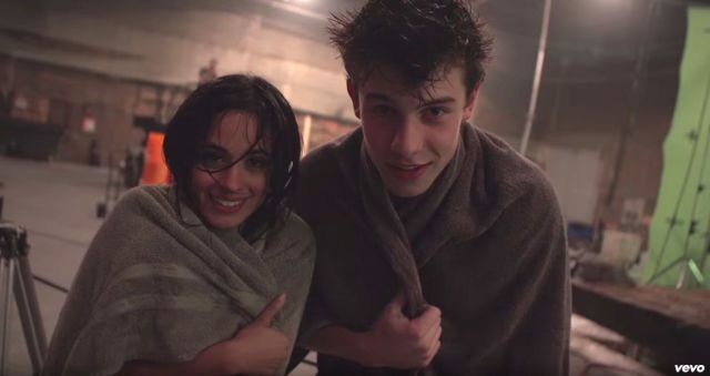 Shawn Mendes and Camila Cabello Can't Stop Flirting BTS of Their Steamy Music Video - Seventeen.com