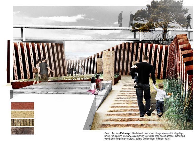 ASLA Student Honor Award. Reclaiming the Shoreline: Redefining Indiana's Lake Michigan Coast. Dane Carlson.