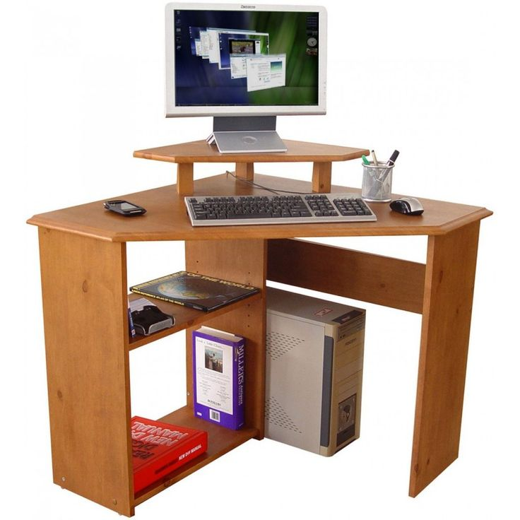 25 Best Ideas About Corner Computer Desks On Pinterest