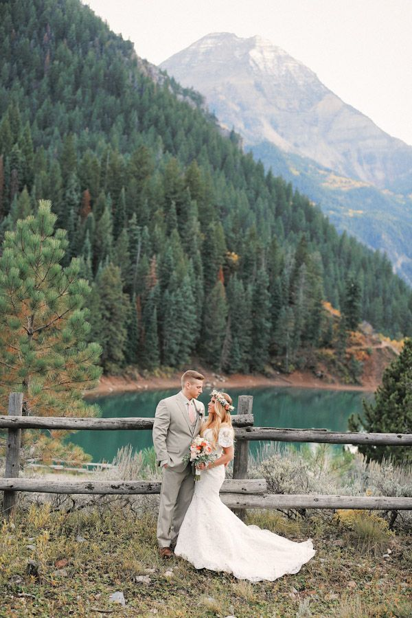 Tibble Fork Bridal, Utah Wedding Photographer | Alpine Loop Bridal Photos  | http://www.gideonphoto.com/blog