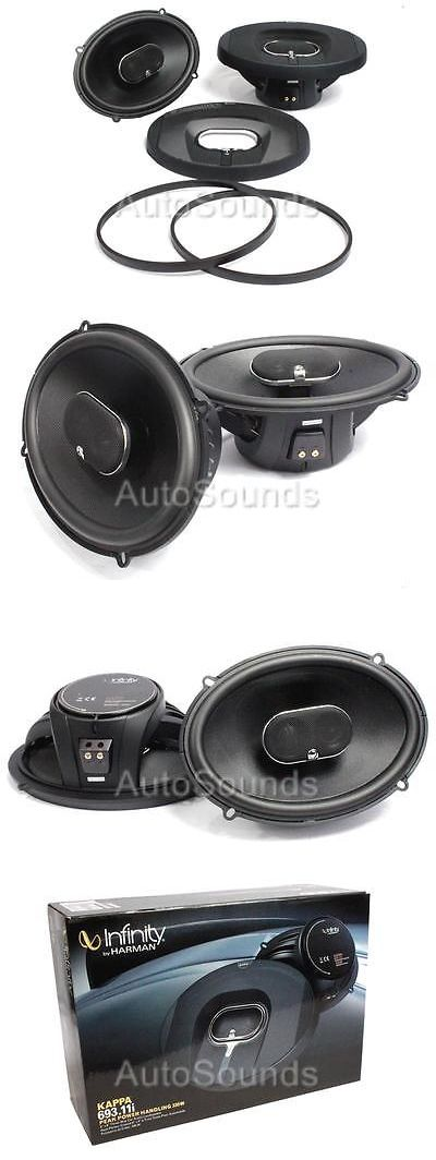 Car Speakers and Speaker Systems: Infinity Kappa 693.11I 660 Watts 6 X 9 3-Way Coaxial Car Audio Speakers 6 X9 -> BUY IT NOW ONLY: $119 on eBay!