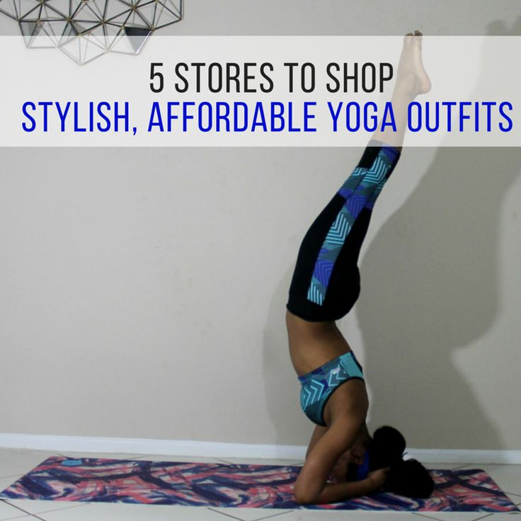 5 Stores to Shop Stylish, Affordable Yoga Outfits