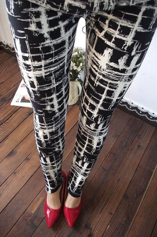 Women Leggings Cartoon Print Kawaii Pants Casual Leggings Ninth Leggings women Pantalones Cheap Pants Roupa Mujer