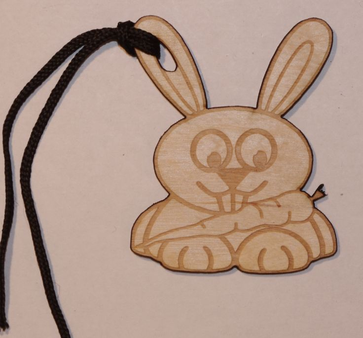 loveable Rabbit Gift Tag