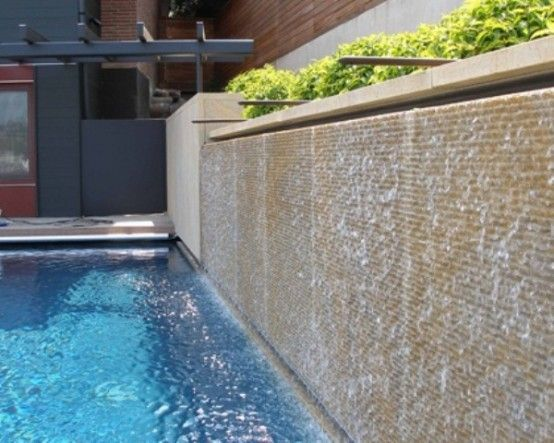 The 25 best Wall waterfall ideas on Pinterest Modern outdoor