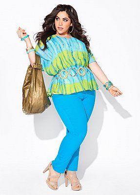 Plus size outfit ...Ashley Stewart