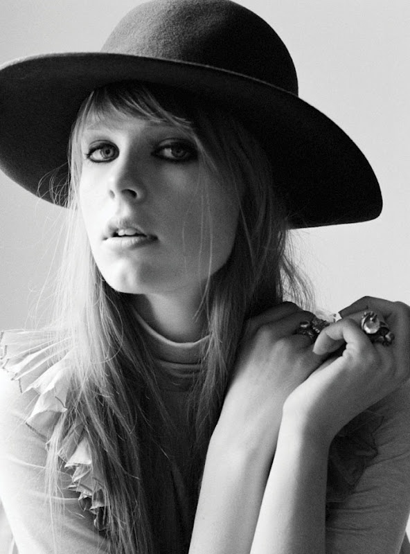 edie campbell by ami sioux