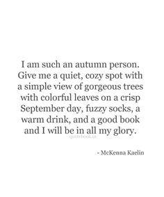 Autumn person//